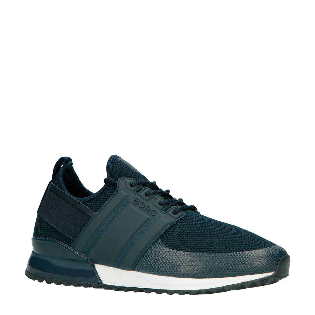 Björn Borg  R220 LOW SCK KTP M sneakers blauw, Donkerblauw/wit