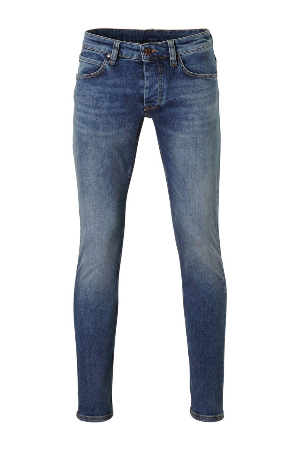 Strellson slim fit jeans, Donkerblauw