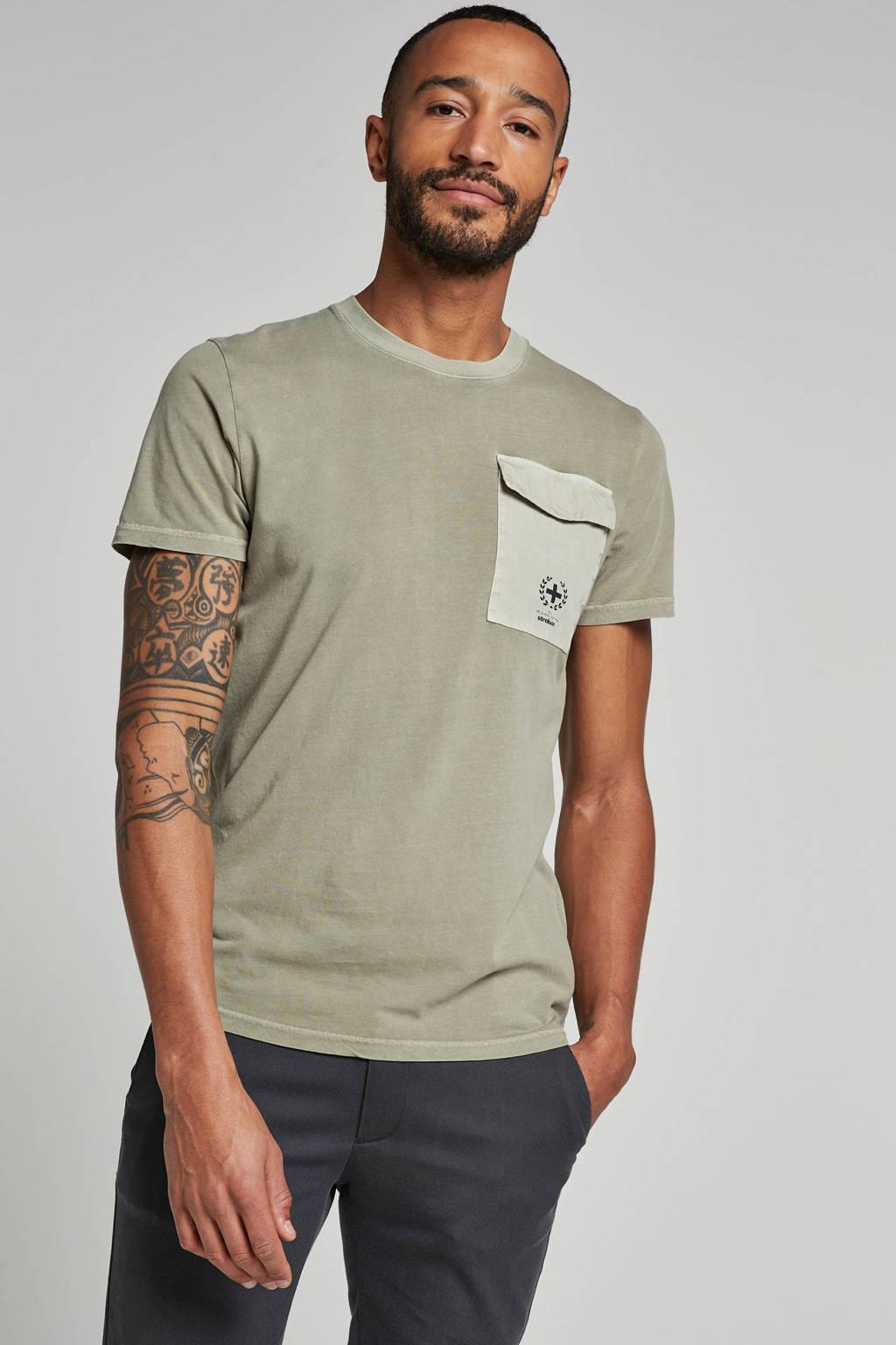 Strellson T-shirt groen, Groen