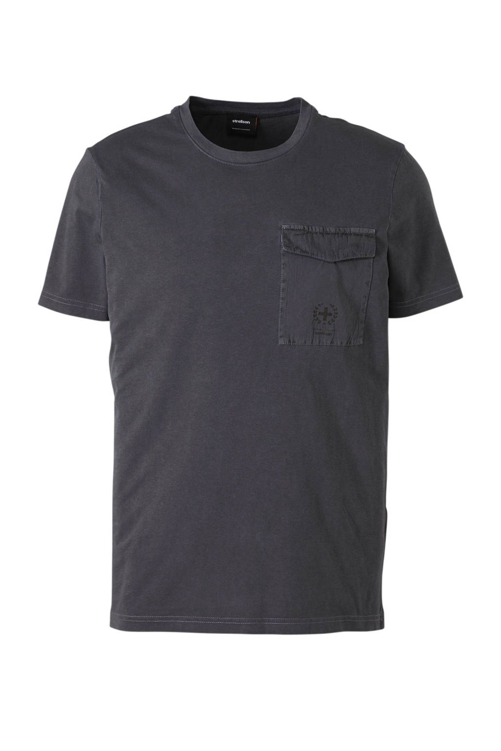 Strellson T-shirt antraciet, Antraciet