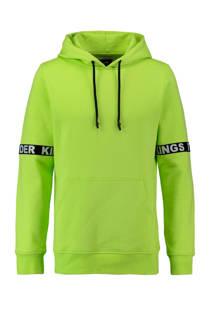 CoolCat  hoodie limegroen (heren)