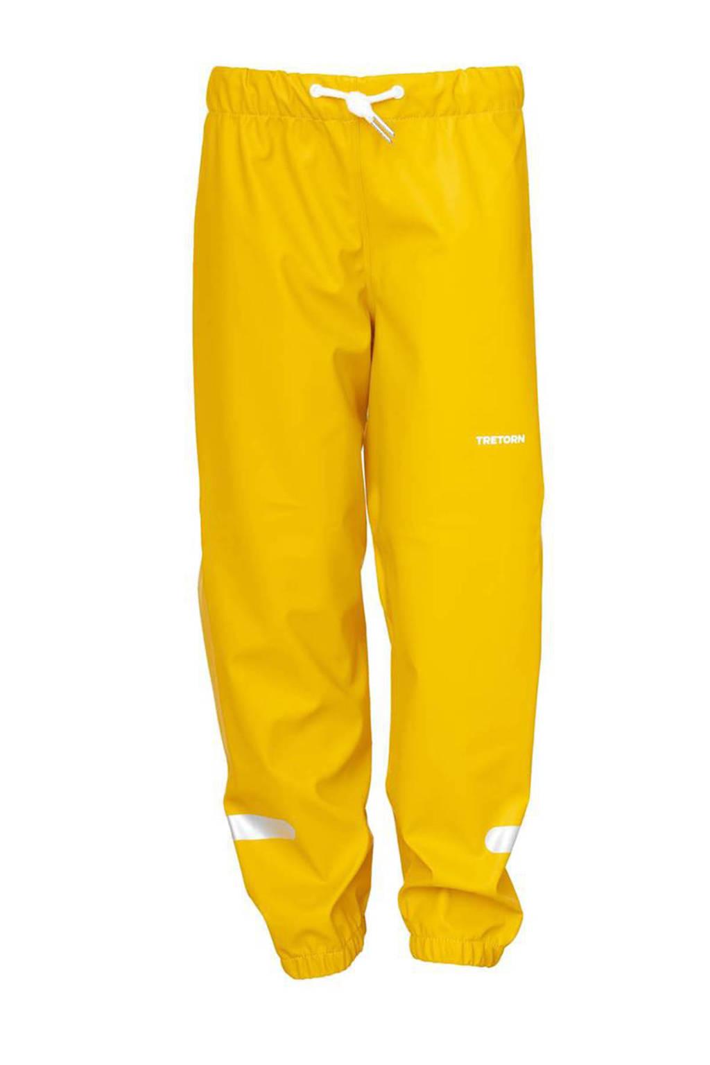 Tretorn kids regenbroek geel, Spectra Yellow