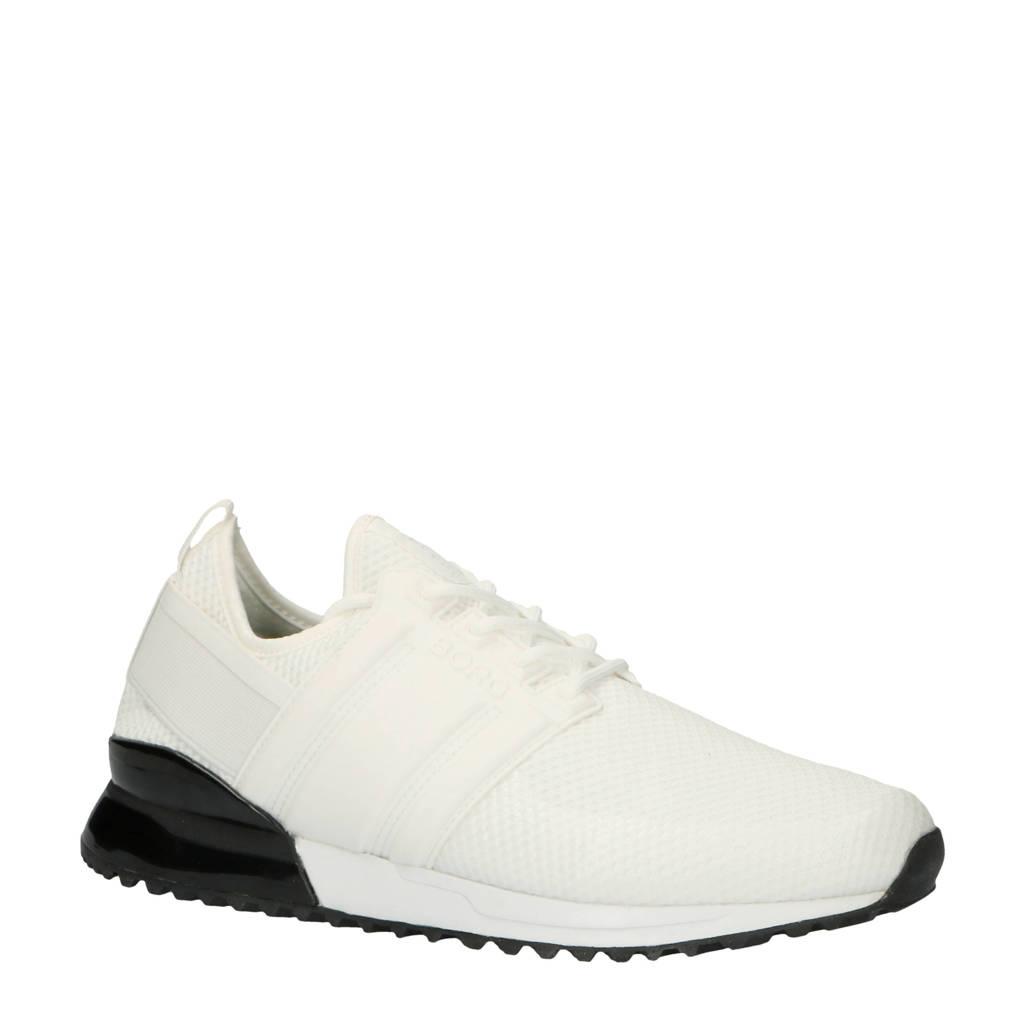Björn Borg  R220 LOW SCK TMS M sneakers wit, Wit/zwart