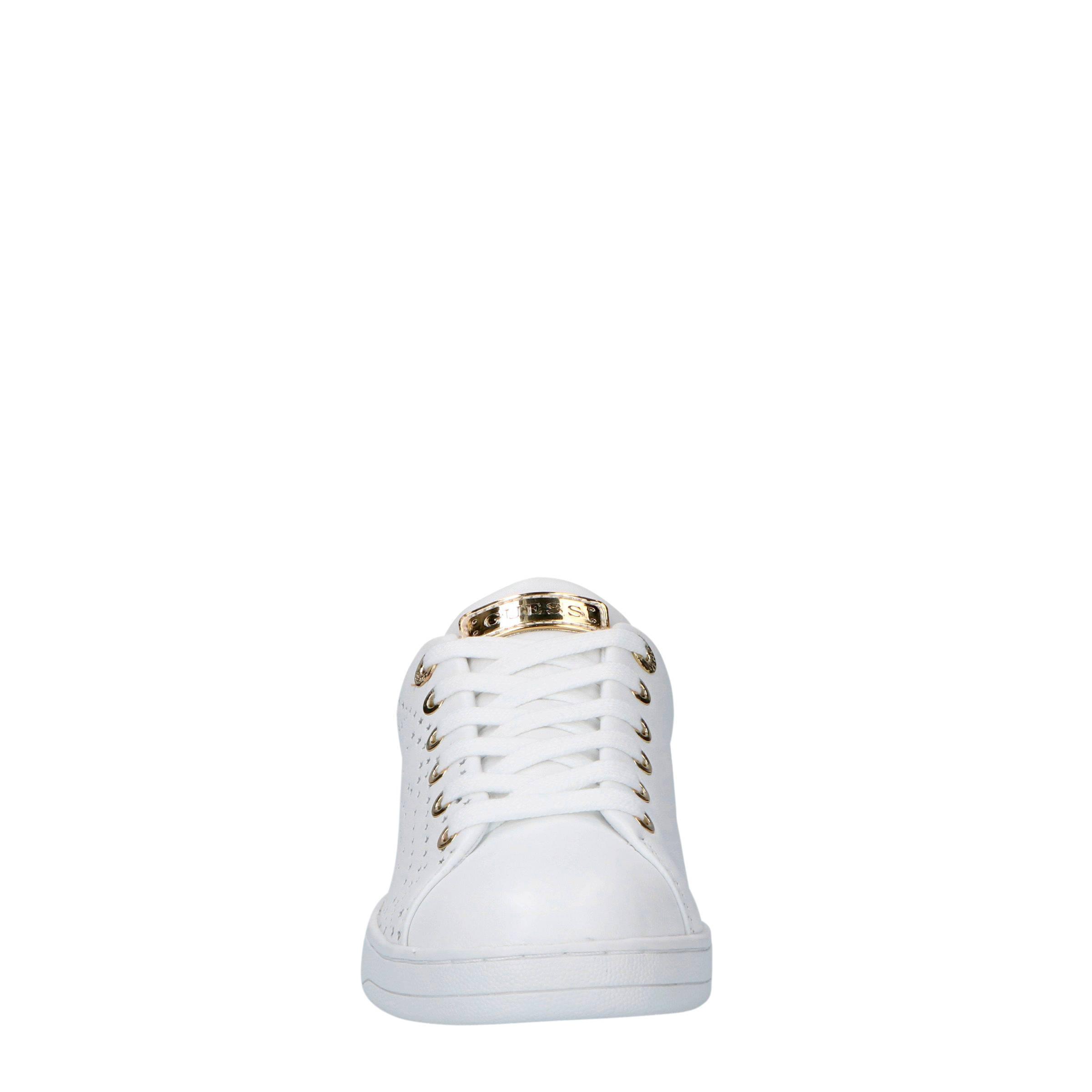 Carterr leren sneakers wit