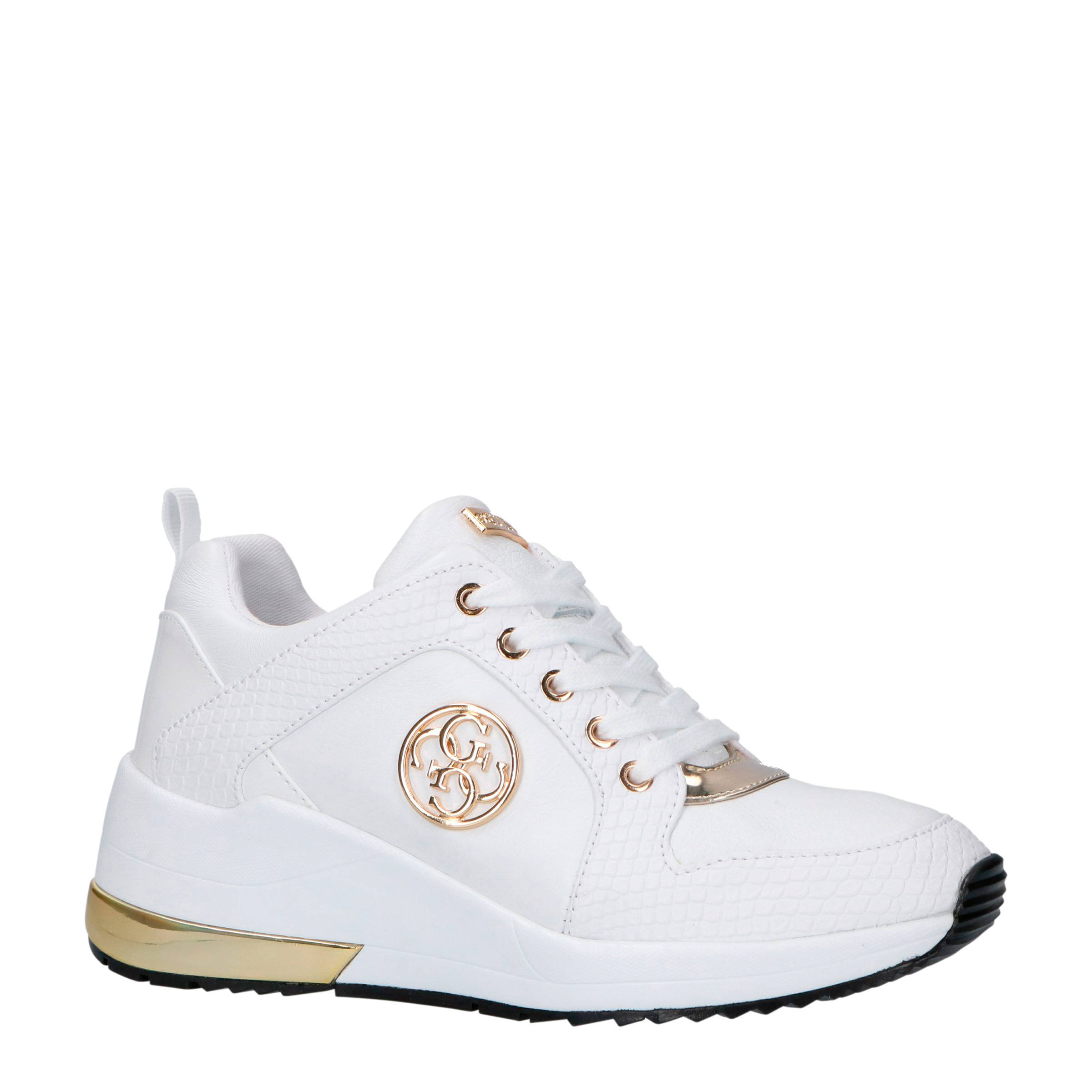 Jaryd2 leren sneakers wit