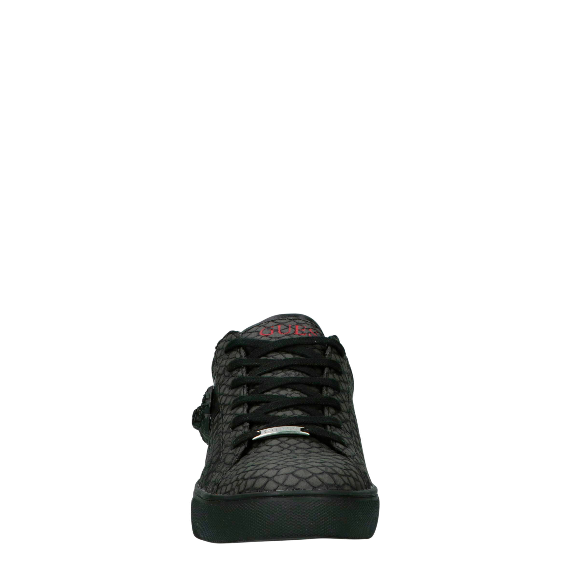 GUESS sneakers antraciet | wehkamp