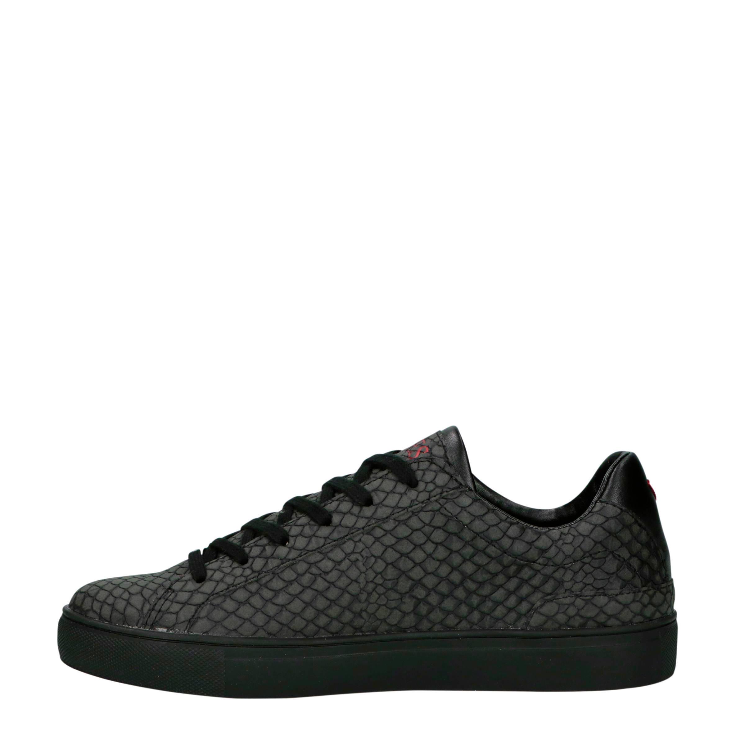 sneakers antraciet