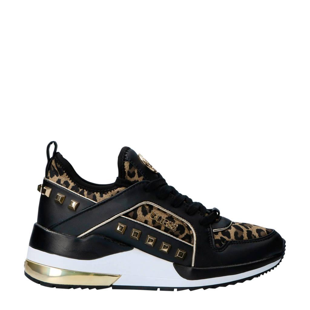 Met Sneakers Julyann Guess Zwart Logo SawET55gq
