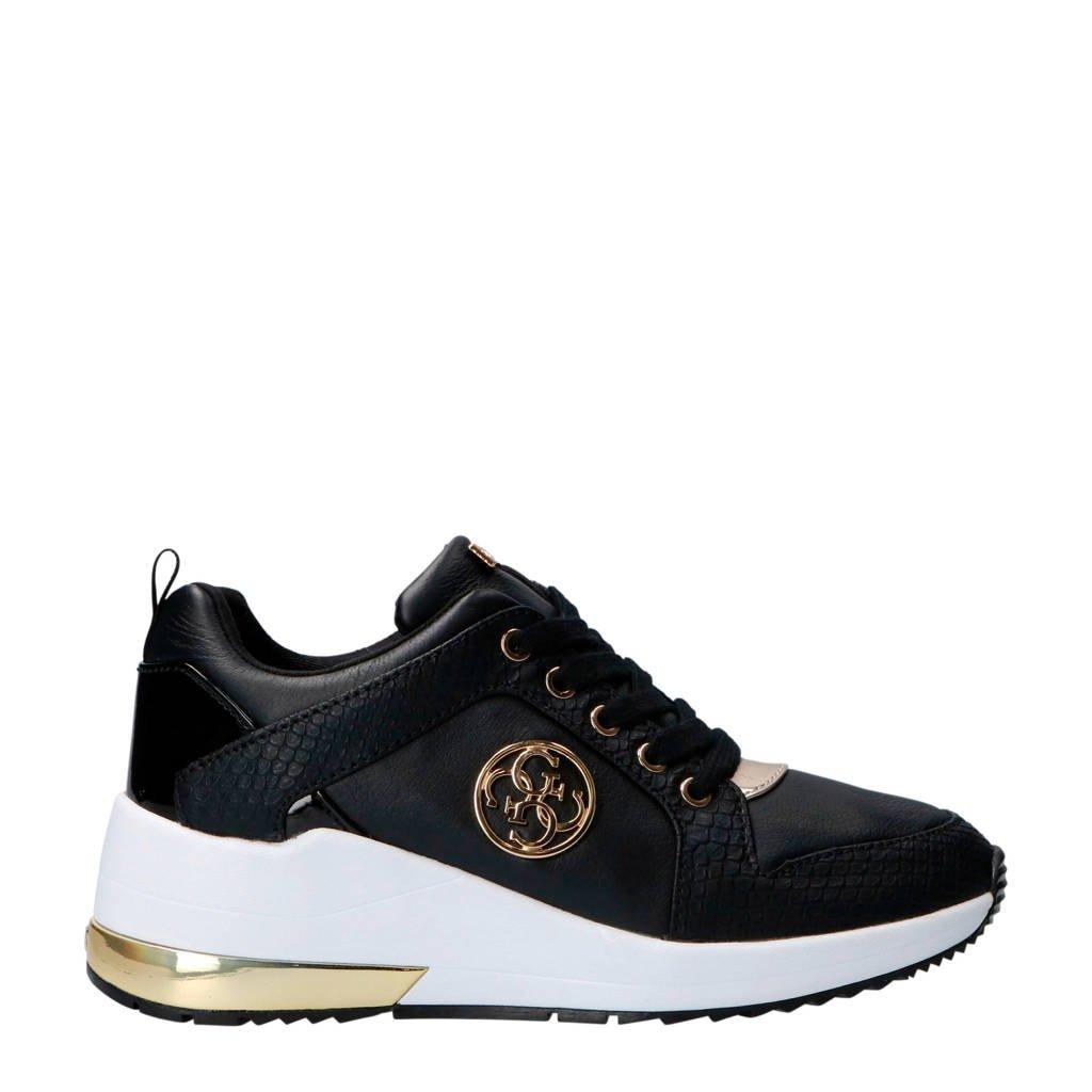 Jaryd2 Guess Jaryd2 Sneakers Leren Zwart Guess zqYF1wZv