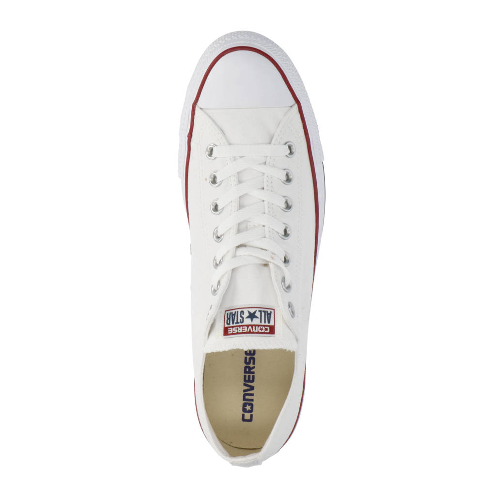 c082438ac7e Converse Chuck Taylor All Star OX wit/rood, Wit/rood