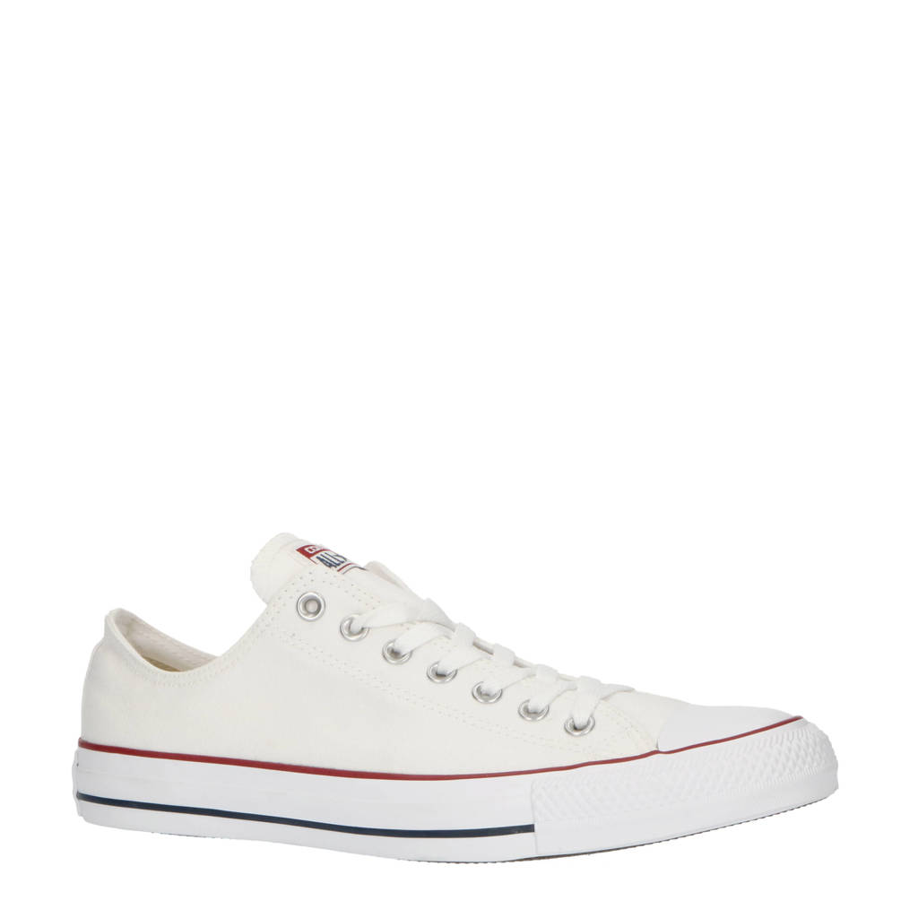 45bde44d3e0 Converse Chuck Taylor All Star OX wit/rood, Wit/rood