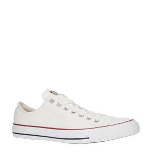 Chuck Taylor All Star OX wit/rood