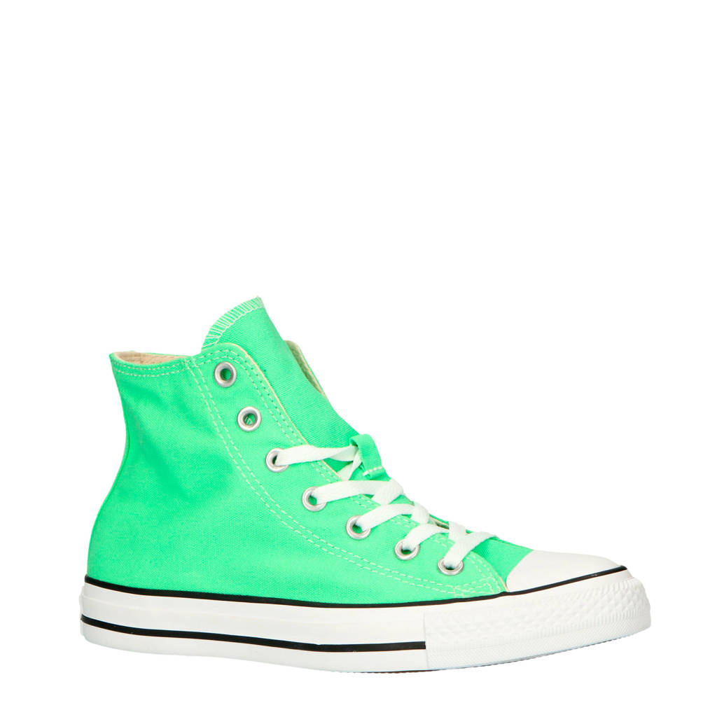 Converse Chuck Taylor All Star Classic Hi  sneakers mintgroen, Mintgroen