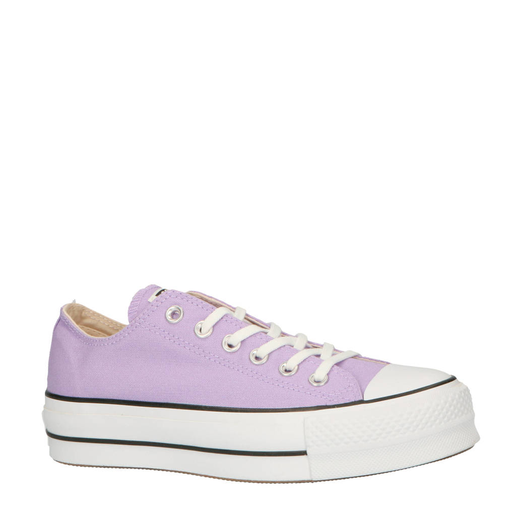 5ced1f42565 Converse Chuck Taylor All Star Lift OX sneakers lila, Lila/paars