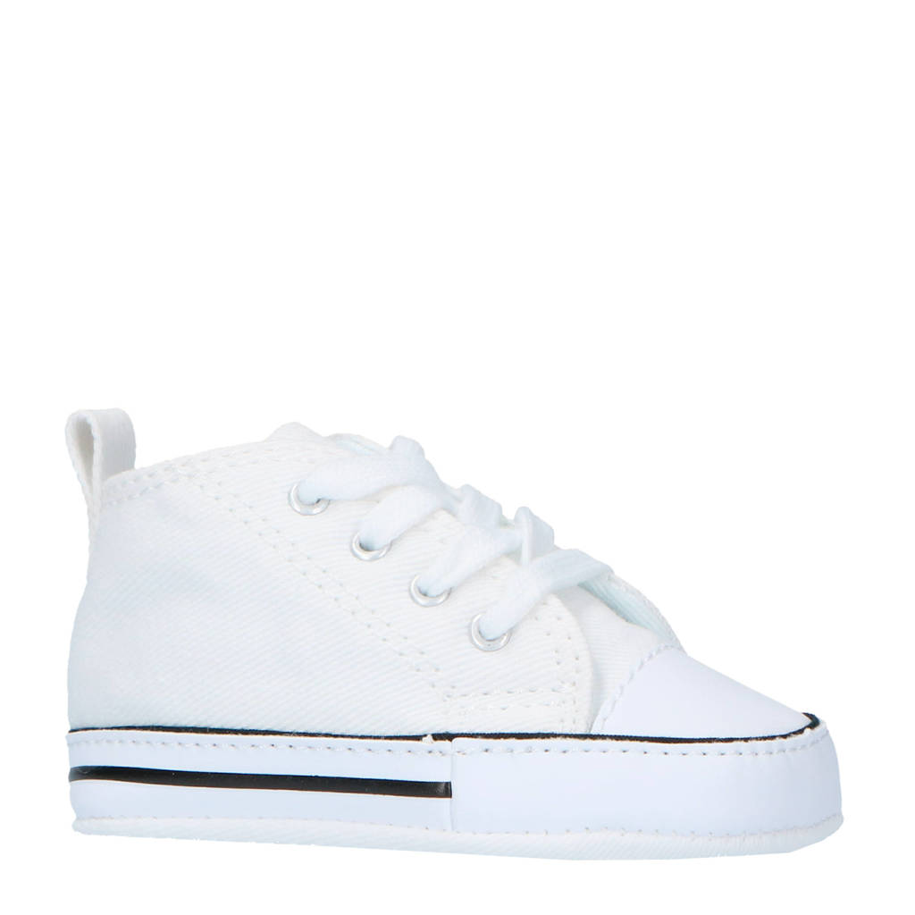Converse  First Star Hi sneakers wit, Wit