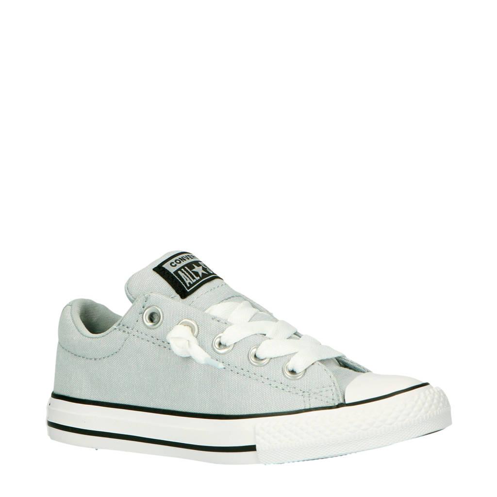 582528d9942 Converse Chuck Taylor All Star Street Slip sneakers grijs, Grijs/zwart/wit