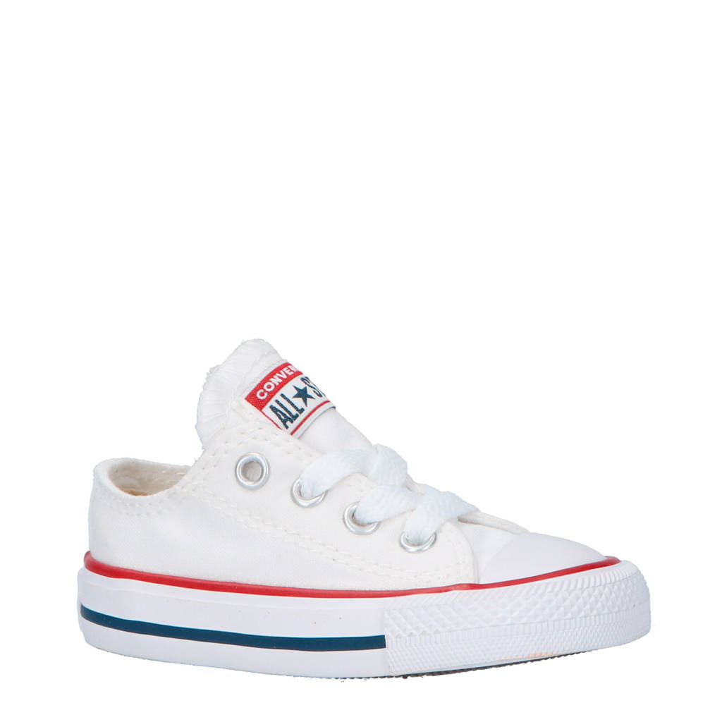 b2344b4705d Converse Chuck Taylor All Star OX wit | wehkamp