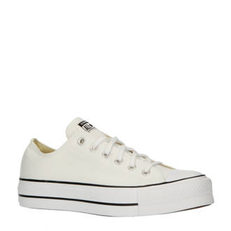 02fdbb2e51c Converse. Chuck Taylor All Star Lift OX sneakers wit/zwart