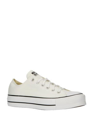 Chuck Taylor All Star OX sneakers wit/zwart
