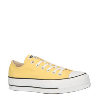 Chuck Taylor All Star Lift OX sneakers geel
