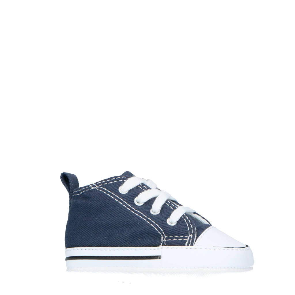 Converse  First Star Hi sneakers donkerblauw, Donkerblauw/wit