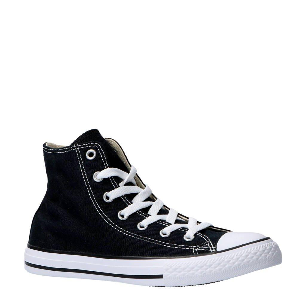 Converse   Chuck Taylor All Star Classic Hi zwart, Zwart/wit