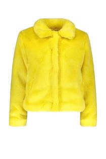 Sissy-Boy gevoerde teddy jas geel (dames)