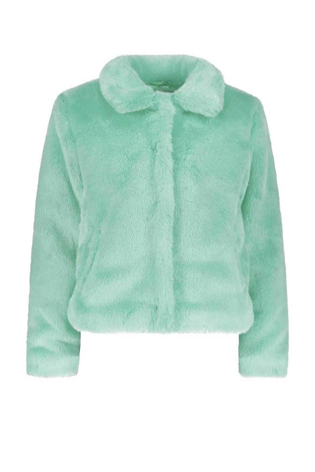 Sissy-Boy gevoerde teddy jas blauw, Blauw