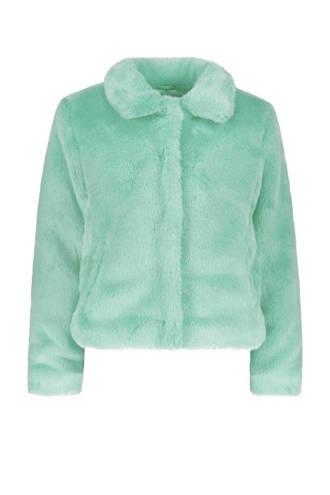 gevoerde teddy jas blauw