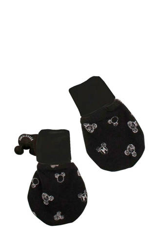 baby wanten Mickey Mouse print off black
