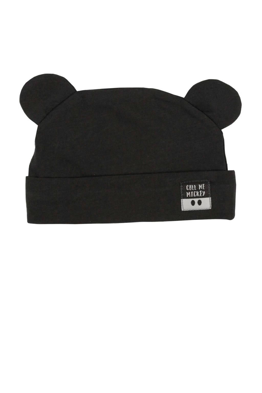 Zero2three baby muts  Mickey Mouse off black, Off black