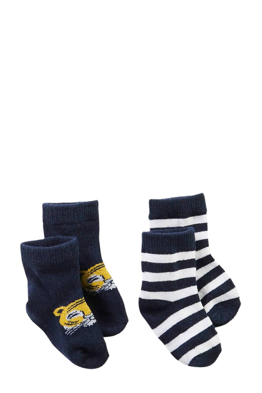 Z8 newborn baby sokken Earth, Marine