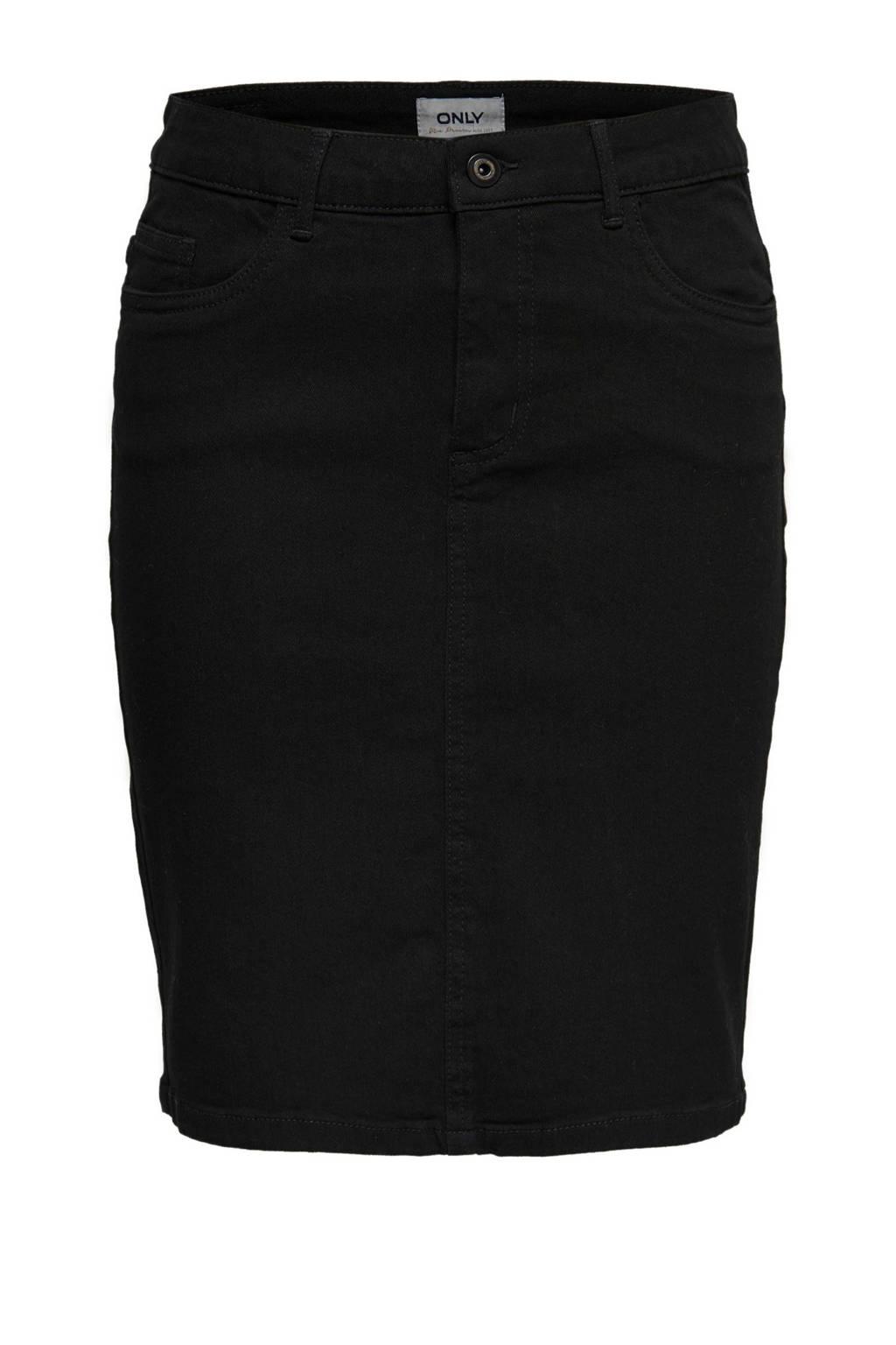 ONLY rok zwart, Zwart