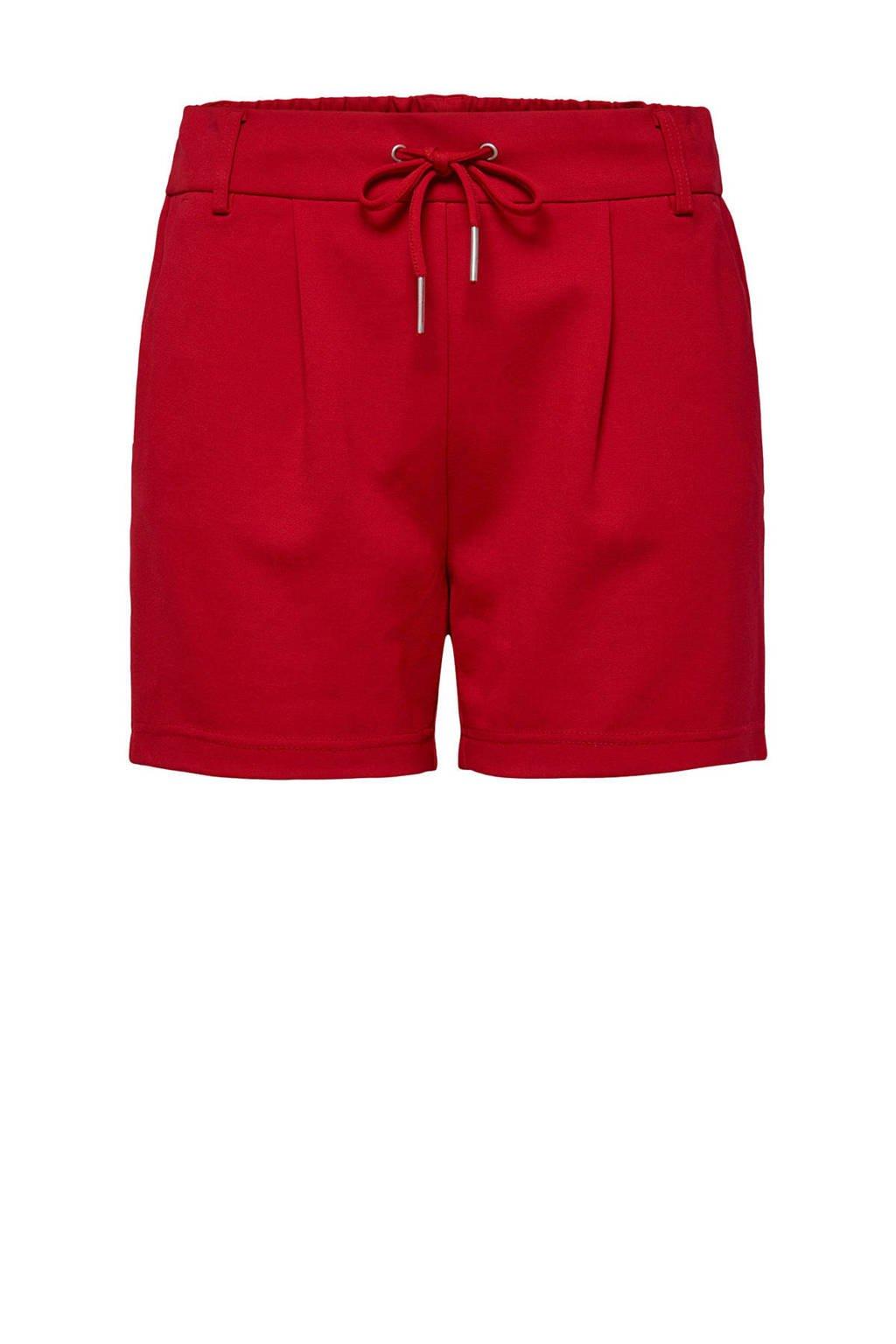 ONLY korte broek rood, Rood