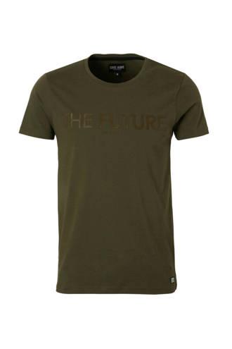 Hazell T-shirt legergroen