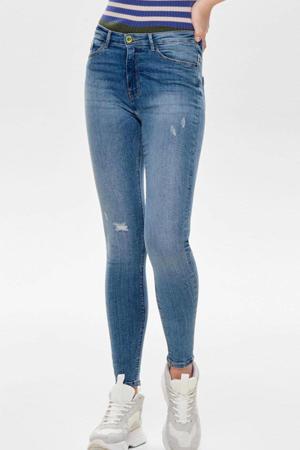high waist skinny jeans ONLPAOLA light blue denim