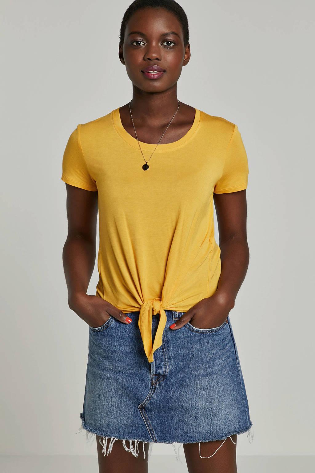 ONLY top geel, Geel