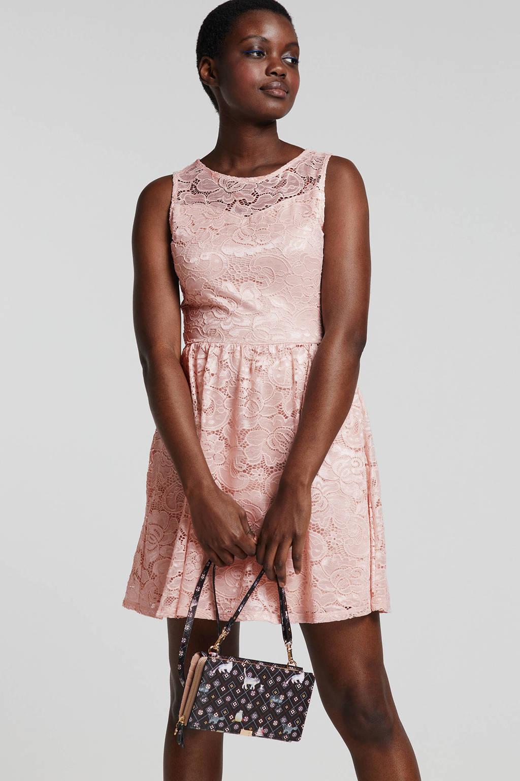 Beste ONLY kanten jurk roze | wehkamp ZZ-94