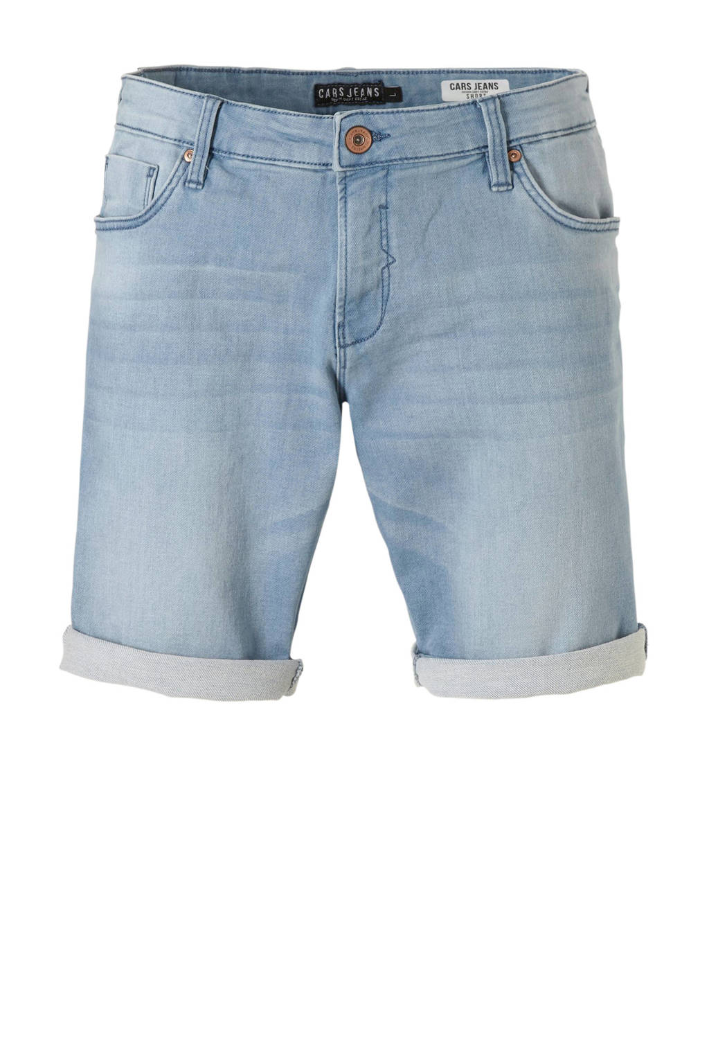 Cars jeans short, Blauw
