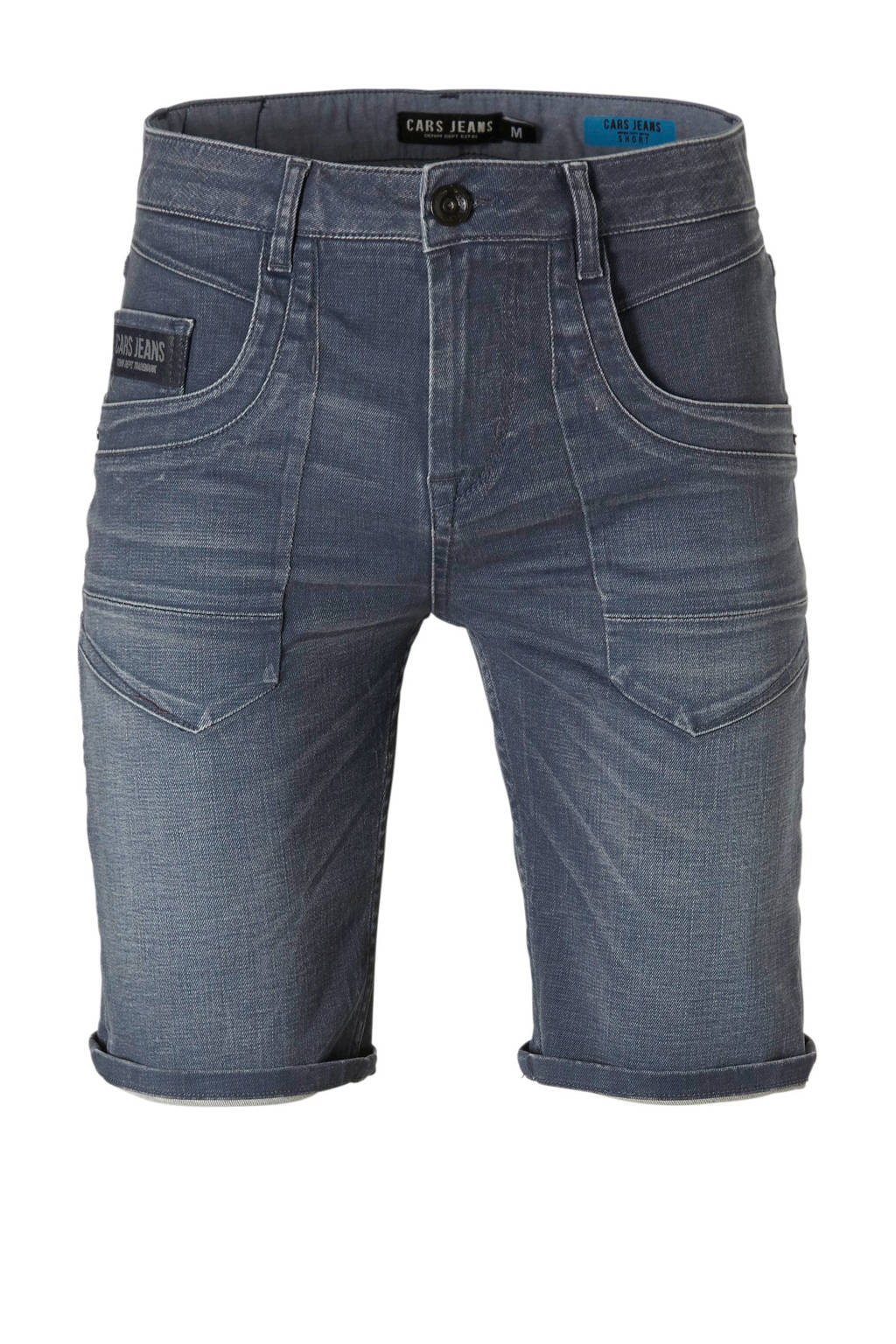 Cars regular fit jeans short, Grey Blue