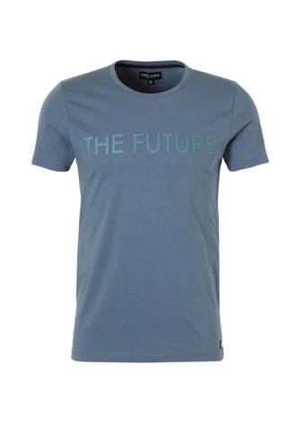 Hazell T-shirt blauw