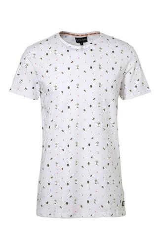 T-shirt met print wit