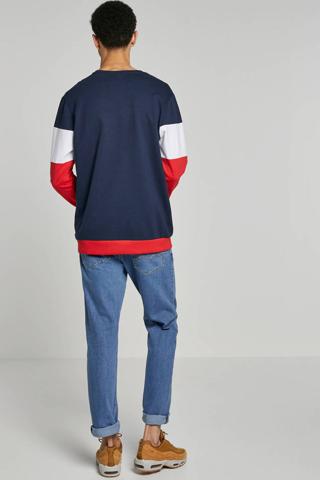 Cars sweater, Rood/blauw/wit