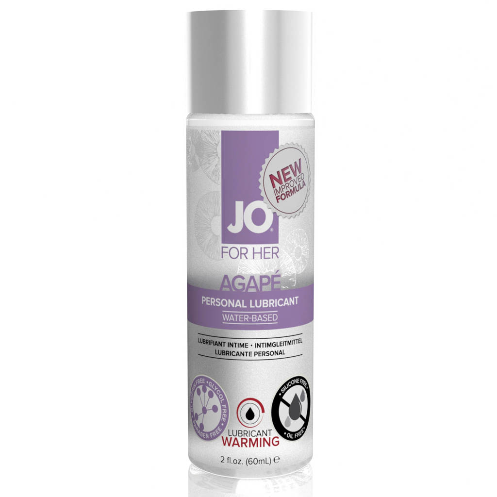 System JO For Her Agape verwarmend glijmiddel - 60 ml