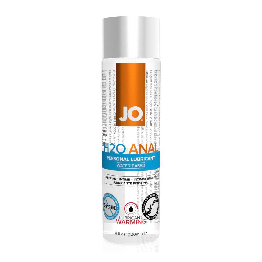 System JO Anaal H2O verwarmende glijmiddel - 120 ml
