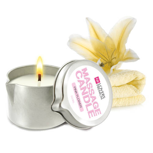Loverspremium massagekaars vanilla cream