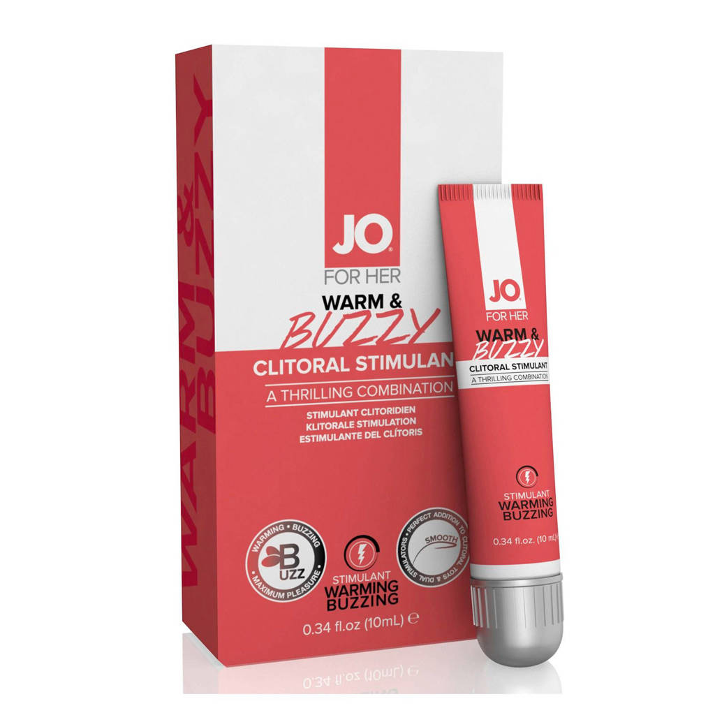 System JO For Her stimulerende clitoris gel - Warm & Buzzy