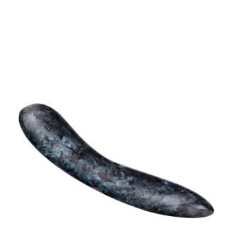 D.1 Stenen dildo - donkerblauw