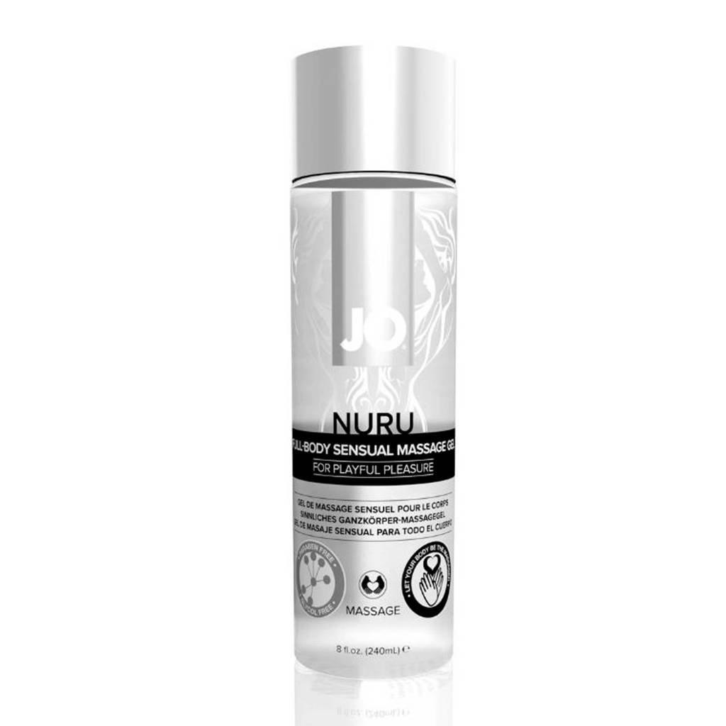 System JO Nuru Full Body Sensual Massage Gel - 240 ml, Transparant
