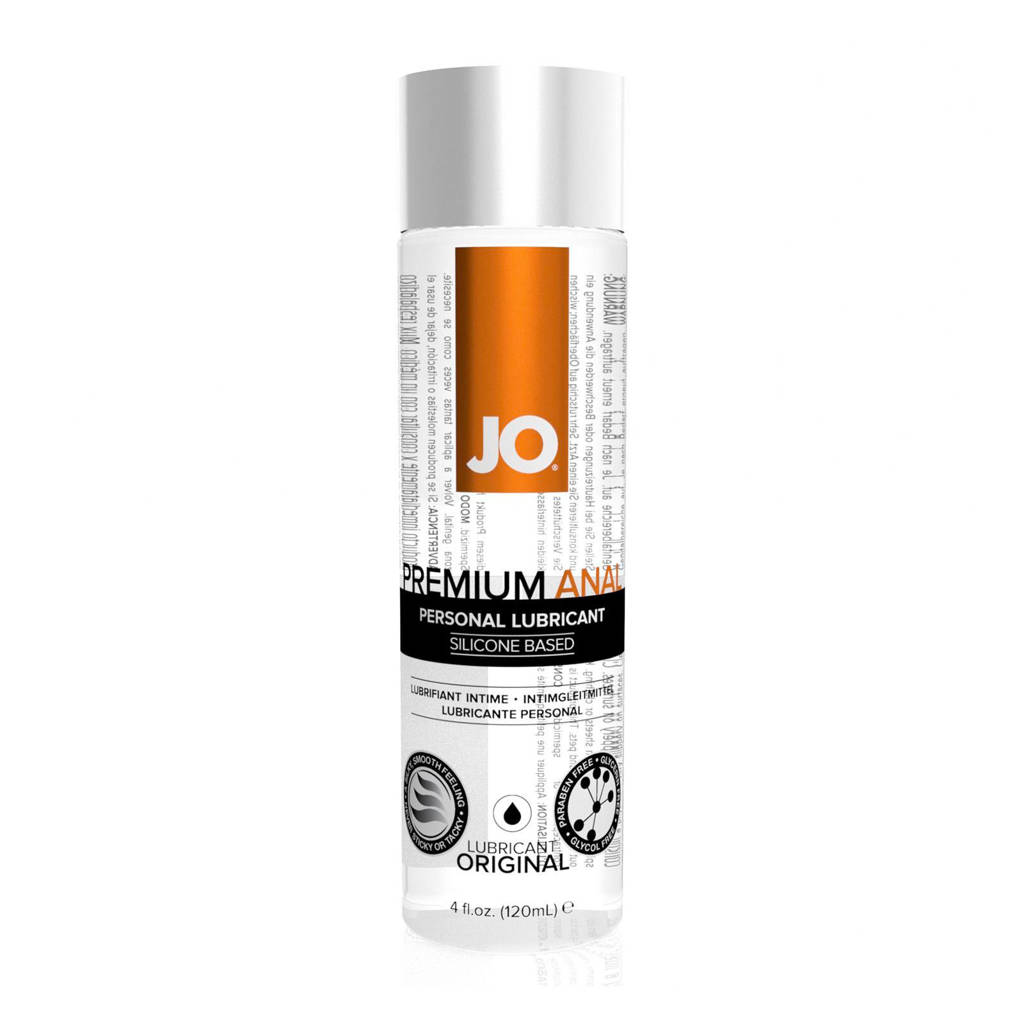 System JO Anaal siliconen glijmiddel - 120 ml